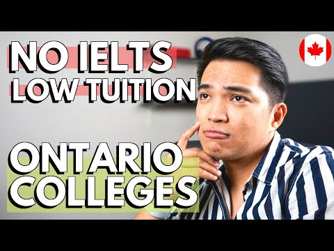 WHAT ARE THE COLLEGES IN ONTARIO WITHOUT IELTS: Canada Affordable Schools For International Students