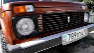 ВАЗ 21213 НИВА Полный перекрас кузова - замена цвета + шумоизоляция салона