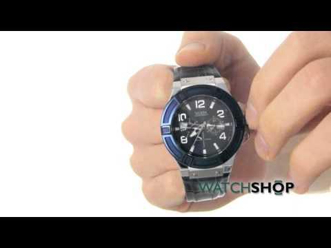Guess Men's Rigor Guk Watch (W0040G7)