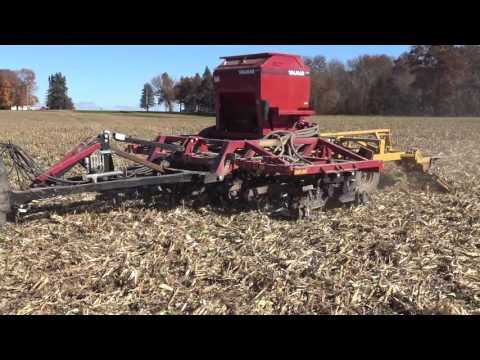 Cover Crop Planting Using An Implement Mount Air-seeder
