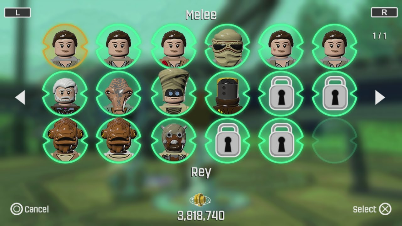 Lego Star Wars The Force Awakens Ps Vita3dsmobile All Rey