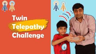 Twin Telepathy Challenge I Fun With Anagh Aadriti