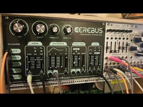 Dreadbox Lil Erebus eurorack DIY - spacy sounds