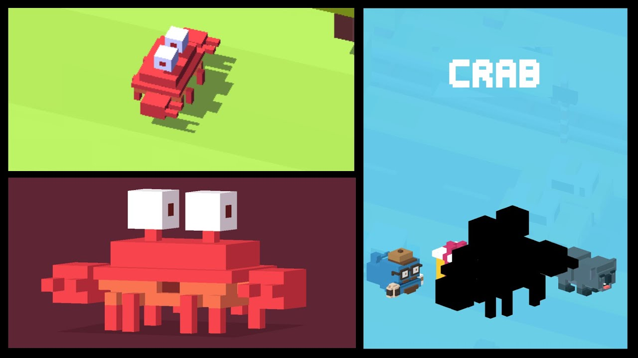 CROSSY ROAD CRAB | Unlock the NEW secret character