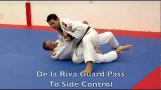 Brazilian Jiu Jitsu Video: De la Riva Guard Passing with Rodrigo Sul