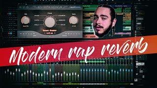 Modern Rap Vocals Reverb | Mixing rap vocals