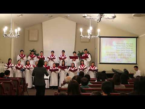 2017.10.13 - Then Sings My Soul 我靈歌唱 (Youth Choir) TJC in Garden Grove