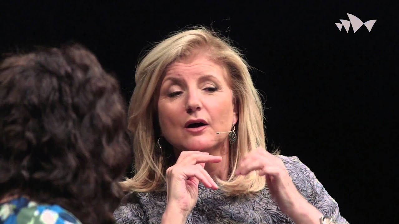 Arianna Huffington In Conversation With Annabel Crabb Ideas At