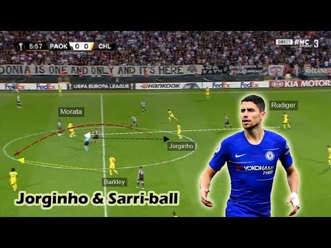 Jorginho's Importance in Sarriball | Tactical Analysis