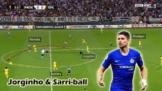Jorginho's Importance in Sarriball | Tactical Analysis