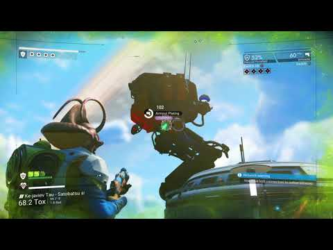 No Man's Sky NEXT - Armorer's Mission fighting walkers