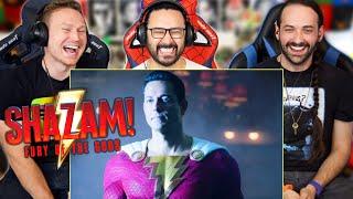 SHAZAM 2: FURY OF THE GODS TEASER TRAILER REACTION!! (Behind The Scenes | DC Fandome 2021)