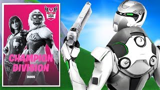 VERSING THE BEST FORTNITE PLAYERS IN OCE LIVE! FORTNITE CHAMPION DIVISION POP UP CUP LIVE!