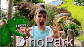 Dinopark vlog ile des Loisirs with Sofia -dinosaur history Primul vlog cu Sofia