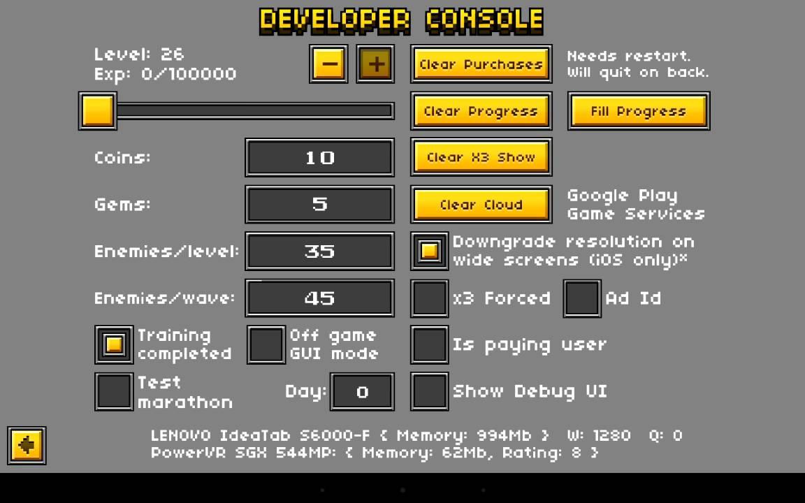 pixel gun 3d developer console apk latest version