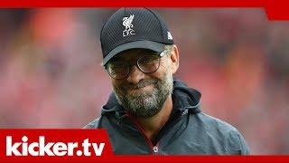 "Liverpools Serie reißt: Klopp hat ""nie darüber nachgedacht"" | kicker.tv"