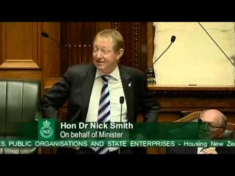 Debate on Crown Entities, Public Organisations and State Enterprises - Housing New Zealand - Part 1