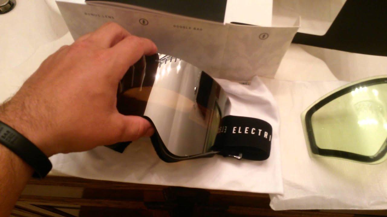 c6ac6848eda3 2016 Electric EGX goggles - YouTube