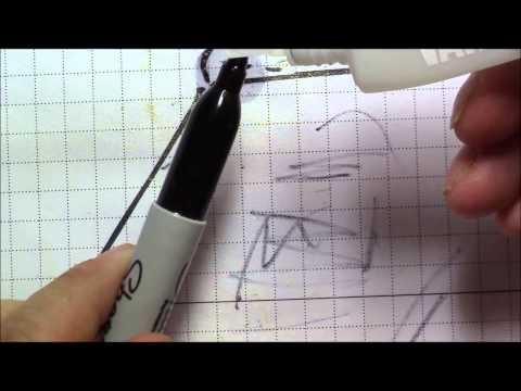 How to refresh (reink) a Sharpie Marker