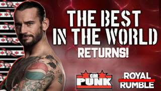 Confirmado: CM Punk regresará en Royal Rumble 2017