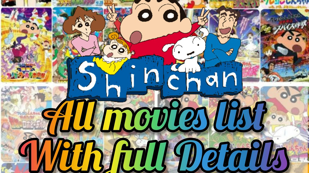 Download Shinchan All Movies List with full Details (1993 - 2021)   Shin-chan all Movies
