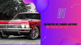 VI Encontro de Carros Antigos em Cocal do Sul!