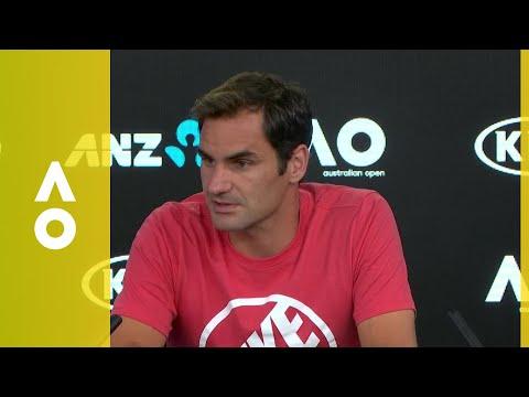 Roger Federer press conference (1R) | Australian Open 2018