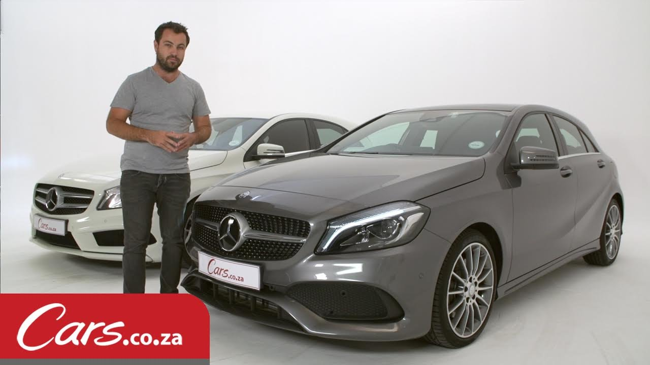 Mercedes Benz A Class Facelift New Vs Old Side By Side Comparison