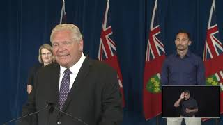 Premier Ford provides a COVID-19 update | August 10 YouTube Videos