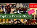 Explore Flowers Show in CWB,in Hong kong