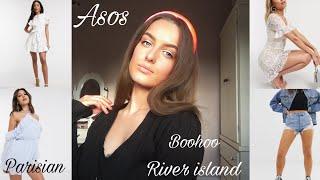 ASOS HAUL & TRY ON! RIVER ISLAND, NEWLOOK, PARISIAN, BOOHOO x