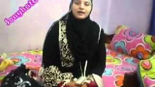 SAIM CHISHTI NAAT Thandi Thandi Hawa   Hooria Fahim aunty at my home