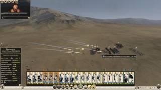 Total War ROME 2 - Египет (Легенда) - 9 (армия слонов в деле)