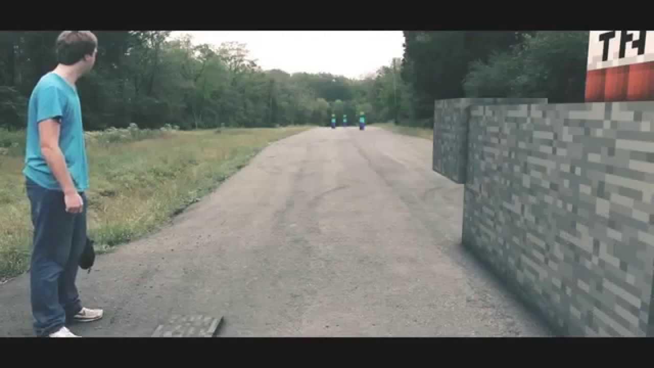 Zombie Attack Real Life (Minecraft Parody) - YouTube
