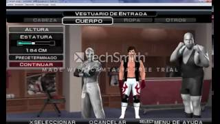 Como crear a AJ STYLES WRESTLEMANIA 32 EN SVR 2011 PSP
