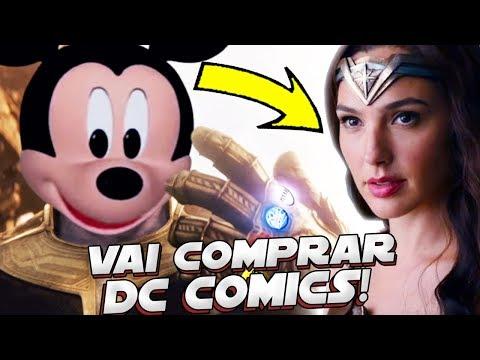 A DISNEY VAI COMPRAR A DC COMICS! E AGORA 😱 🔥
