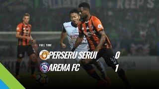 [Pekan 13] Cuplikan Pertandingan Perseru Serui vs Arema FC, 6 Juni 2018
