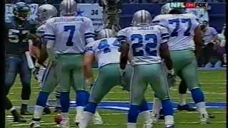 emmitt smith becomes the all time leading rusher vs seattle 2002