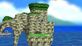 Sonic Adventure 64 (C3 Demo) (N64) - Vizzed.com GamePlay (rom hack)