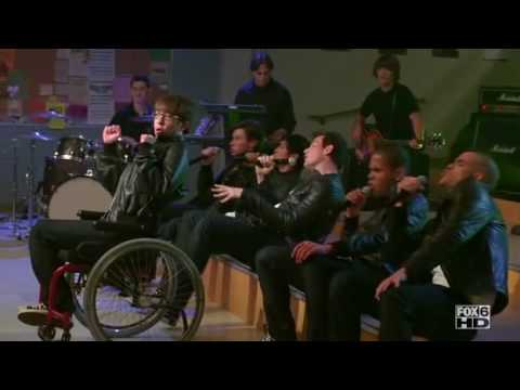 Glee - It's My Life, Confessions Part II (Boys Mashup) - Vitamin D.avi