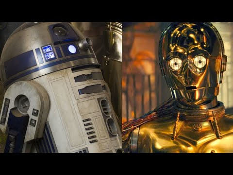 Star Wars Episode 1: The Phantom Menace C-3po meets R2D2 (CAM)
