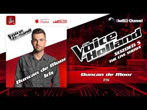 Duncan de Moor - Iris (The voice of Holland 2014 Live show 5 Audio)
