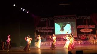 jgm school preranotsav 2016 17 5th madhuri girls