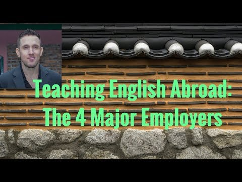 ESL Training Center vs. University vs. Public School vs. Corporate English Teaching Contracts