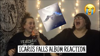 ZAYN- ICARUS FALLS ALBUM REACTION// LEXI AND KAYLA