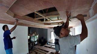 Living Room Ceiling Installation