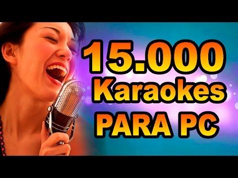 Descargar +15.000 Karaokes para PC + El Reproductor karaoke