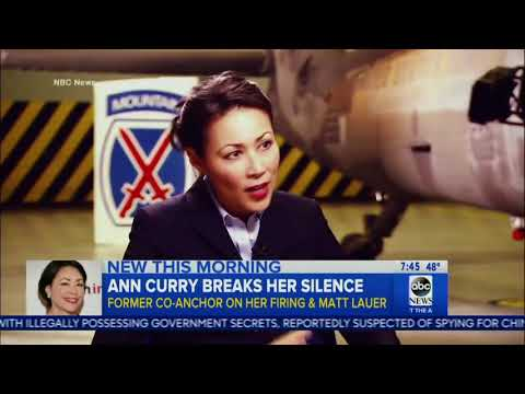 Former Today Anchor Ann Curry Speaks Out on Matt Lauer: 'I Feel Outraged'