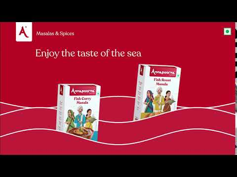 Enjoy the Taste of the Sea   Annapoorna Masalas & Spices