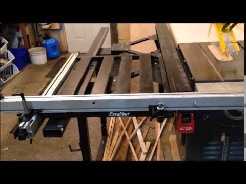 Reflections On Excalibur Sliding Table